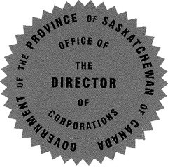 Saskatchewan Incorporation